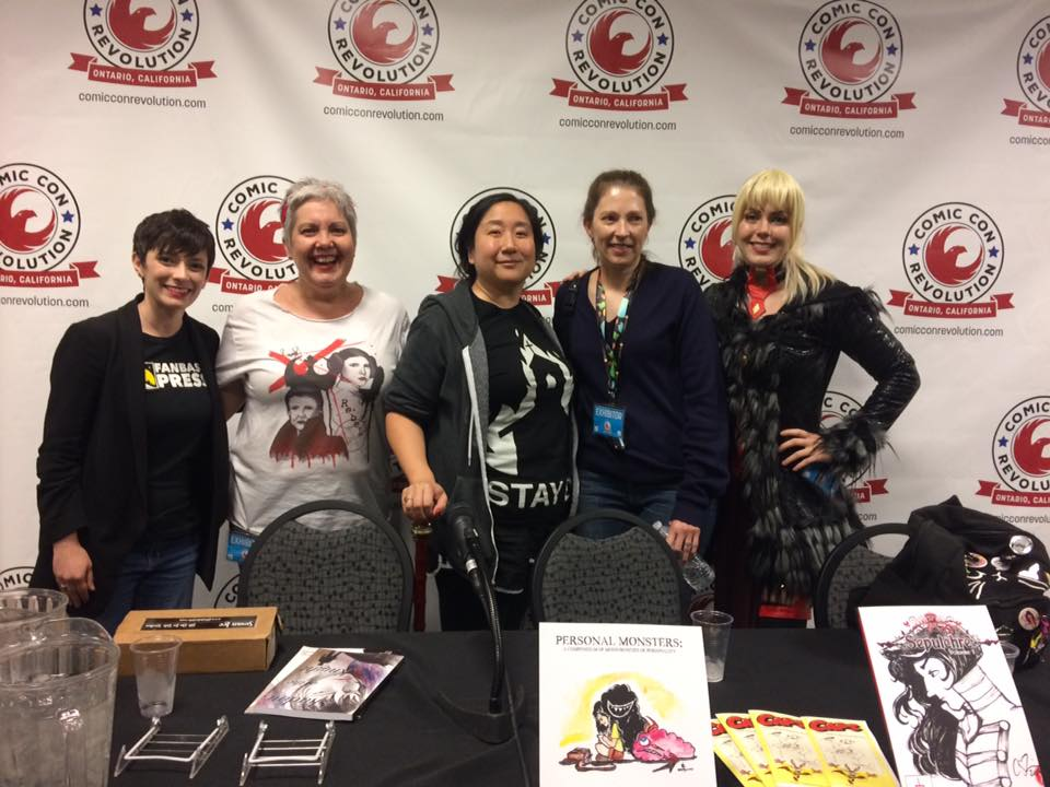 Panel at Comic Con Revolution 2018